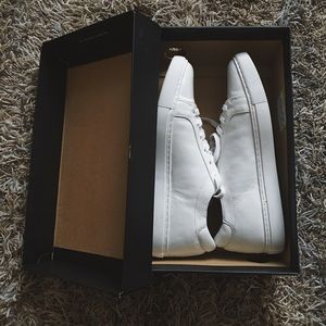 Kenneth Cole All White Sneakers